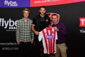 Ruddlesden geotechnical sponsors Exeter City FC!