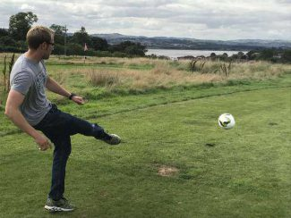 Ruddlesden Geotechnical 3rd Annual Golf Day: Footgolf!
