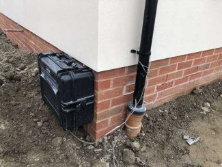Continuous Ground Gas Monitoring Prevents Newly Built Houses from Demolition!